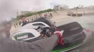 7. First Ride 2017 Kawasaki  4-Sroke Stand Up Model New SXR