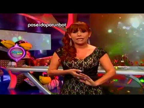 COMBATE: Miguel Arce toca senos a Gianina Lujan 01/11/12