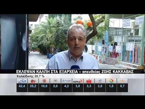 Άρπαξαν κάλπη σε εκλογικό τμήμα των Εξαρχείων | 07/07/2019 | ΕΡΤ