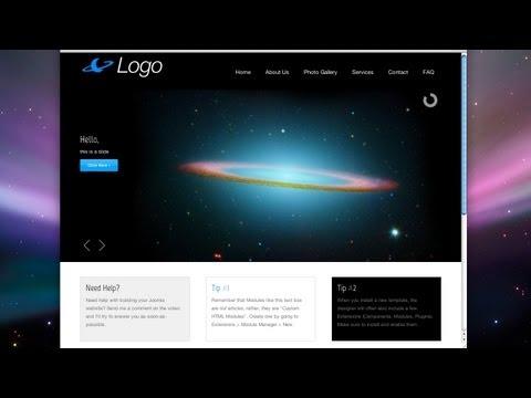 Create a Joomla Website! – Easy! – 2012