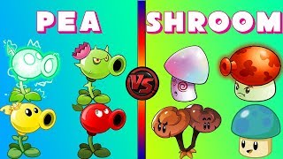 Video Plants vs Zombies 2 PEA Plant Power-UP! vs SHROOM Plant Power-Up! (PvZ 2 All Zomboss) MP3, 3GP, MP4, WEBM, AVI, FLV Juni 2019