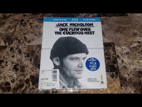 One Flew Over The Cuckoo's Nest Blu-Ray Unboxing