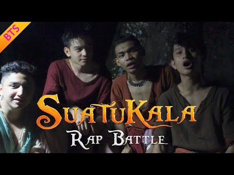 Suatukala | 'Rap Battle' by Wafiy, Zyn, Arif, Firdaus | Behind The Scenes | Malin Kundang