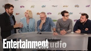"HBO's ""Game of Thrones"" stars Gwendoline Christie, Liam Cunningham, Isaac Hempstead Wright, and John Bradley-West ..."