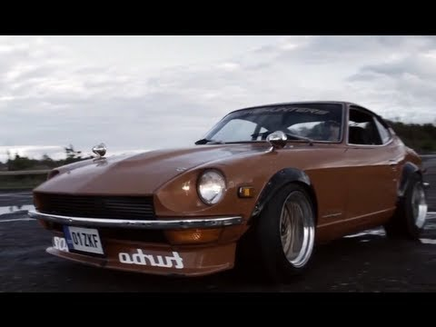 Datsun 240Z Turbo SR20det powered – Do not drink and drive! – Kahur Films