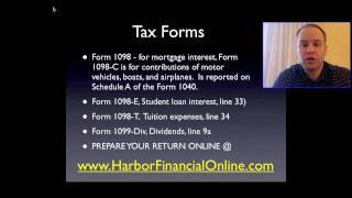 2012, 2013 Tax Forms Online