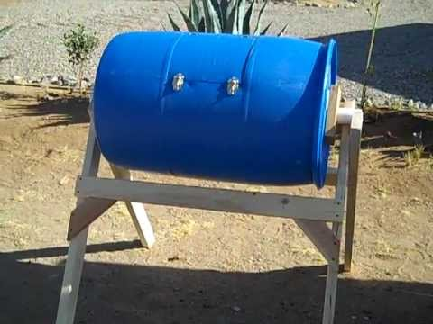 Home-Made Compost Tumbler