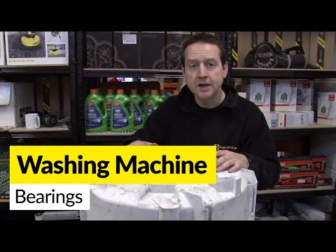 How to replace washing machine bearings