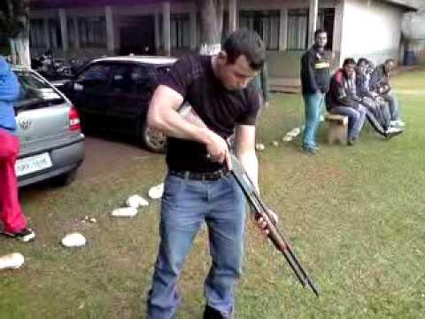 Escopeta calibre 12 ( manejo )  BY: Sena