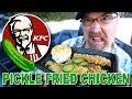 KFC 🥒🍗 PICKLE FRIED CHICKEN + DRIVE THRU RAGE! LOL