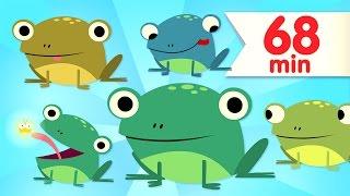 Video Five Little Speckled Frogs | + More Kids Songs | Super Simple Songs MP3, 3GP, MP4, WEBM, AVI, FLV Juli 2019