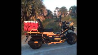 9. '05 Honda Big Ruckus w/ fishing gear