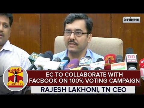 Election-Commission-to-Collaborate-with-Facebook-on-100%-Voting-Campaign--Rajesh-Lakhoni