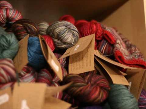 My Local Yarn Shop - Sitting Knitting