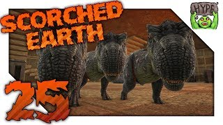 Ark Scorched Earth! Ep 25 | Rock Golem Fails & Babies! | Scorched Earth Vanilla Ark Gameplay