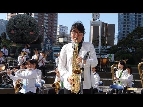 湖東中学校 吹奏楽部「宝島」