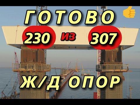 Крымский(апрель 2018)мост! мост Арки-Тамань что сделано? Подробный обзор! Комментарий! видео