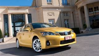 2011 Lexus CT 200h Hybrid Review