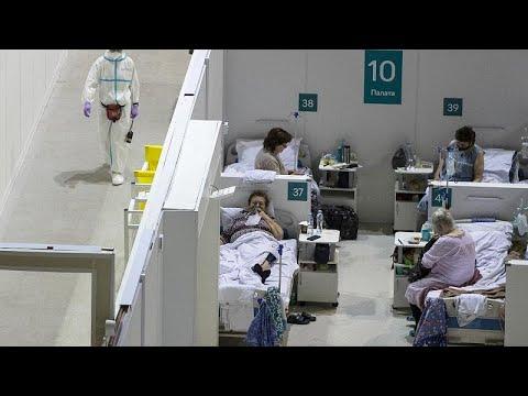 Ρωσία: Σε ράντζα οι ασθενείς με COVID-19
