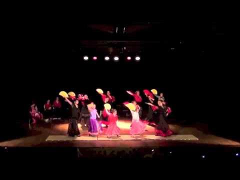 Cours de danse Flamenco et Sévillanes : Saison 2015-2016 à Saverdun