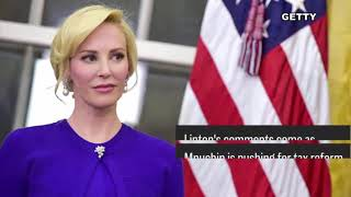 Mnuchin's wife, Louise Linton, spars with an Instagram user after touting her designer clothing Mnuchin's wife, Louise Linton,...