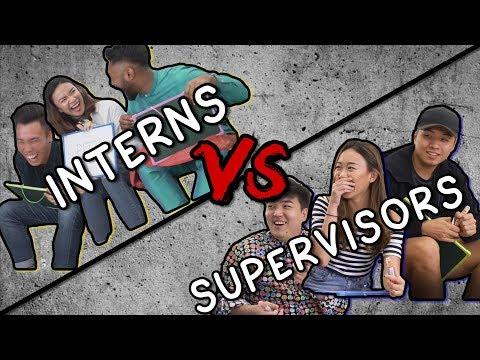 TSL Plays: Interns Vs. Supervisors (Best Friend Tag)