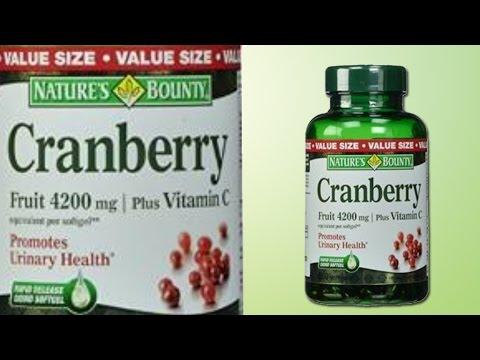 Nature's Bounty Cranberry Fruit 4200mg | Plus Vitamin C 250 Softgels