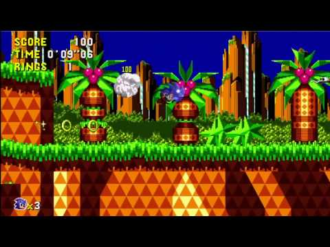 preview-Sonic CD \'Announcement\' Trailer (GameZoneOnline)