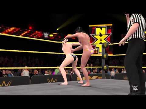 Download WWE 2K16_Paige vs Bayley_NXT Women's Championship Bikini match HD Mp4 3GP Video and MP3