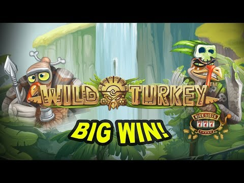 BIG CHAIR WIN on Wild Turkey Slot - £2 Bet