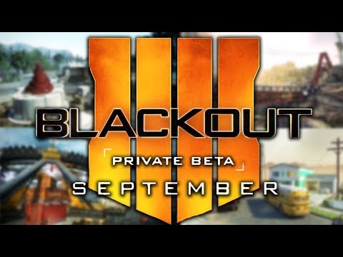BLACK OPS 4 BATTLE ROYALE BETA COMING SOON! (Blackout Beta)