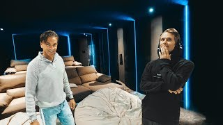 Download Video RICKARD'S NEW CINEMA ROOM IN MARBELLA! | VLOG⁴ 02 (Part 1) MP3 3GP MP4