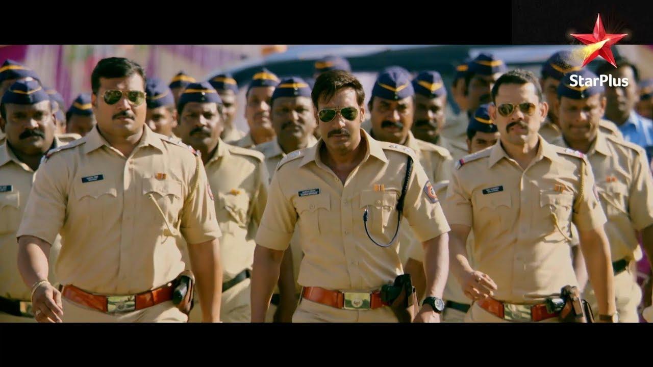 Singham Returns | Bajirao Singham In Action