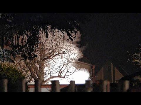 Schuppen brennt in Leipzig-Holzhausen nieder