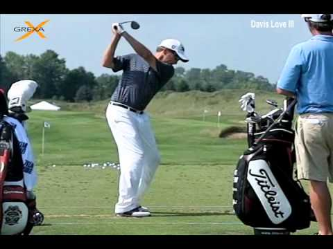 Davis Love III – PGA Tour – Slow Motion Golf Swing