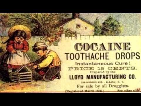 Drogas usadas antes como medicinas