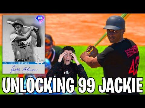 UNLOCKING 99 JACKIE ROBINSON in MLB The Show 20 Diamond Dynasty