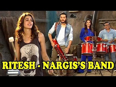 Riteish Deshmukh And Nargis Fakhri Start A Band To