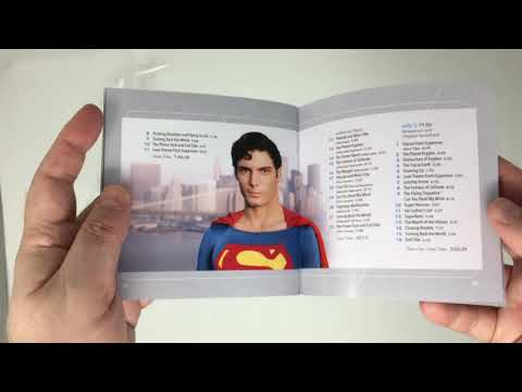 unboxing Superman: The Movie 40th Anniversary Soundtrack