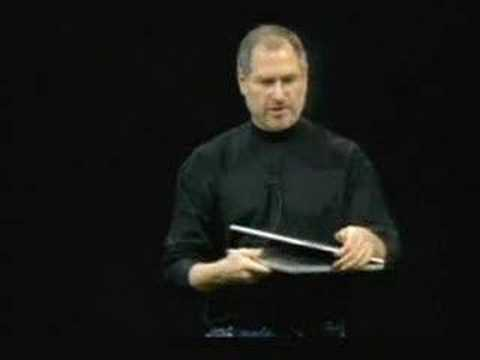 macworld - If you could only ever see one Macworld keynote with Steve Jobs, this would be it. In the final half hour of this Macworld, Mr. Jobs was at the top of his ga...
