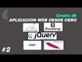 Creando una Aplicacion Web con PHP 7 Parte 2 Crear una base de datos en MySQL Server