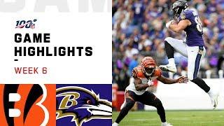 Bengals vs. Ravens Week 6 Highlights   NFL 2019