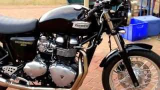 9. Early 2010 Triumph Thruxton