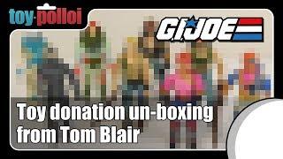 G.I.Joe Toy Donation Un-boxing - Toy Polloi
