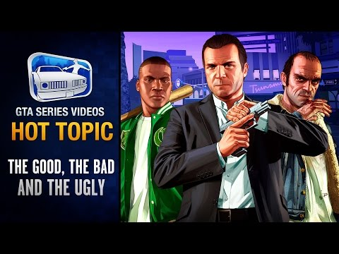 Info - GTA Series Videos Hot Topic Episode 4: The Good, The Bad and The Ugly behind GTA V - PS4/PS3 trailer and screenshots comparison, new info and release date for GTA V and GTA Online on PlayStation...