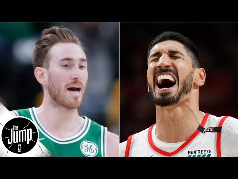 Video: Gordon Hayward will be an All-Star contender, according to Enes Kanter | The Jump