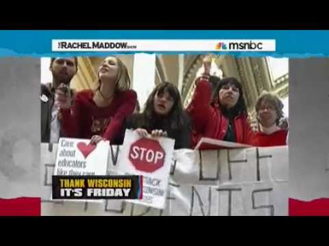 Rachel Maddow: Wisconsin Republicans go for the kill shot