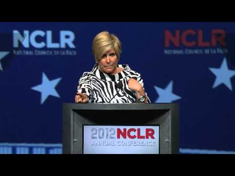 Suze Orman at 2012 NCLR Annual Conference