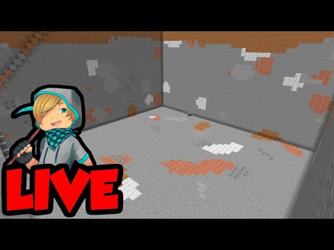 Let's Play Minecraft LIVE (Quarry Dig 3)