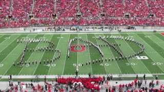Jackson (OH) United States  city photos : Ohio State Marching Band Michael Jackson Halftime Show 10 19 2013 vs Iowa TBDBITL
